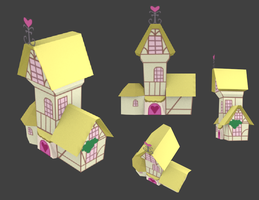 Ponyville Generic House by tifu