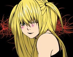Misa Death Note speed color (with video) by doommaker1000