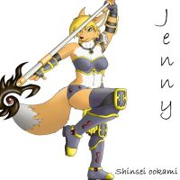 Jenny the sorceres by 2-D-likespizza