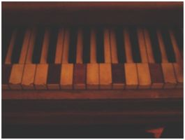 Old Piano Keys by sporklover