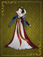 Queen SnowWhite - Disney Queen designer collection by GFantasy92