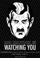 Poster event BigBrother by OpGraffiti