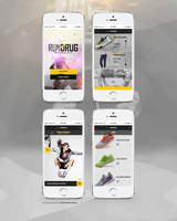 Mobile design - Concept Nike 2015 by Shizoy