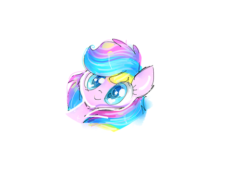 Flinkie headshot sketch by PinkFlutter