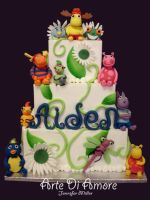 Backyardigans Cake by ArteDiAmore