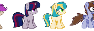 Crack Shipping Adopts by TwistedPony4000