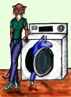 Arrin and the Washer by mitya