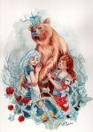 Snow White and Rose Red by AniaMohrbacher