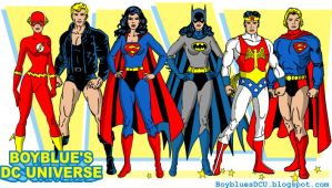 The Complete Justice League from Superman #349 by BoybluesDCU
