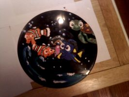 Record Painting: Finding Nemo by CautiousInsanity
