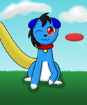 Gio-The-Dragon as a Dog by Angla963