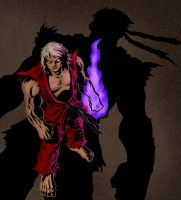 Street Fighter Tribute - Violent Ken by rayvidal