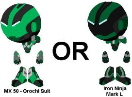 Which Suit should Timothy use more often by YellowNinja123