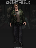 James Sunderland - Silent Hill 2 V.2 by JhonyHebert