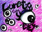 Lunatic cute eyes by NyanRuki