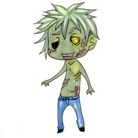 chibitime: Zombie-kun by Meam-chan