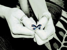 Butterfly Nails by WillDS85
