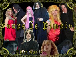 Snape be Pimpin' They hatin' by GrumpyCosplay