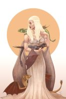 Game of Thrones - Daenerys by tiikay