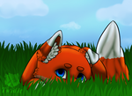 Hiding || Commission by Twidle