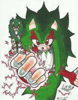 *SONIC FC*:  Lixa by Armpit-Warrior