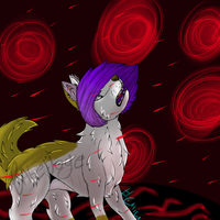 .:rain of blood:. by Babedoge