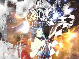 Freddie Mercury by GerryPhantom