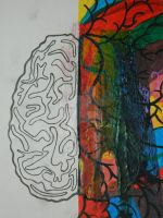 Right Brain vs Left Brain by punkliss