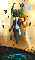 LoZ:Midna by LorenaMcLucyPhantom