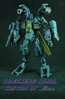 Wrecker Whirl Robot mode by pentecil