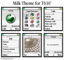 Milk Theme for T610 by awmvannierop