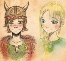 httyd sketches by lady-largo