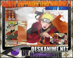 Naruto Sennin Theme Windows 7 by Danrockster