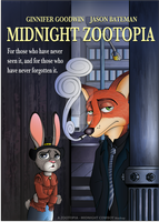 Midnight Zootopia Poster by JackOrJohn