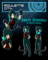 Roulette City 2 Sachi Shimizu [In Ravin's Body] by Raxion