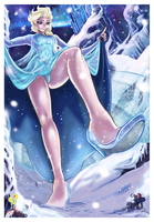 Elsa: I Can't Hold Back Anymore by Bryan-Lobdell