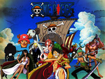One Piece Background by spaceinter