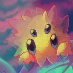 Joltik by crayon-chewer