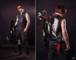 Walking Dead: Daryl Dixon cosplay by Aoki-Lifestream