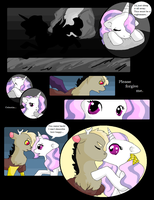 Discord X Celestia comic - Page 21 by VanillaMelodyPegasus