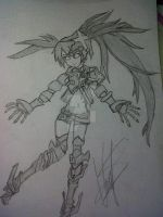 Insane Black Rock Shooter by PhineasFan1
