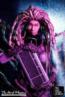 Kerrigan, the Queen of Blades by LadyAngelus