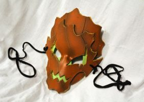EVA Foam LARP Masks: Living Pumpkin by SerenFey