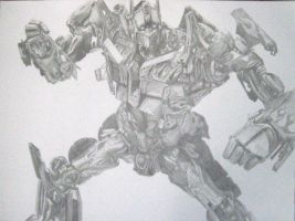 Optimus Prime by Eugeneoyc