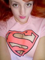 Cut Out Supergirl Top by Liz-a-smurf