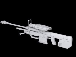 SRS99D Sniper Rifle by metatronmartini