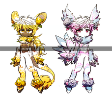 [closed] Adopt -  Flower Trimal ( Fantasy #3 ) by ANJAP93-adopts