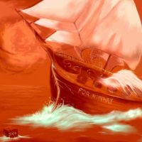 The boat by Sixio