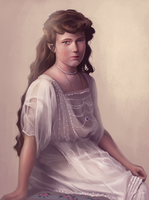 Grand Duchess Anastasia by Sandramalie