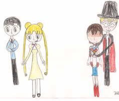 When Ouran Meets Sailor Moon..... by 9freak97